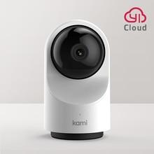 Kami Full HD Wifi kapalı güvenlik kamera, 1080P IP kamera hareket izleme ev monitör sistemi gizlilik modu 6 ay ücretsiz bulut