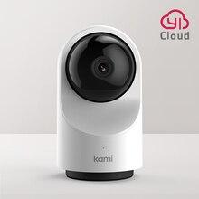 Kami 풀 HD Wifi 실내 보안 카메라, 1080P IP 캠 모션 추적 홈 모니터 시스템 개인 정보 보호 모드 6 개월 무료 클라우드