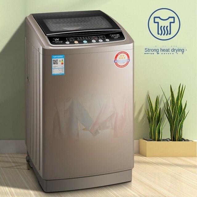 9kg large capacity Fully automatic washing machine smart booking antibacterial washing machine portable washer and dryer machine