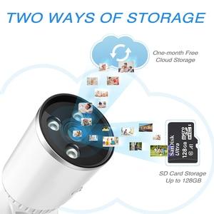 Image 5 - YCC365 1536P Camera WiFi 3.0MP Waterproof Bullet IP Camera Outdoor Security Cameras Wireless Infrared Night Vision CCTV Camera