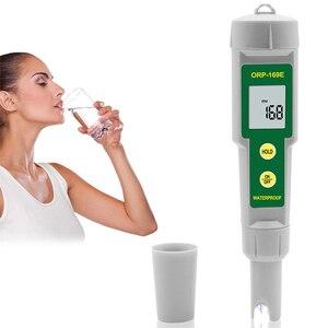 1 pçs portátil à prova dorágua orp medidor caneta testador de qualidade da água solução redução oxidação negativo potencial ferramenta teste