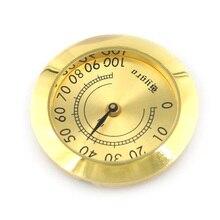 Measuring-Tool Guitar Hygrometer Humidity Household Portable Round Analog Metal Violin-Box
