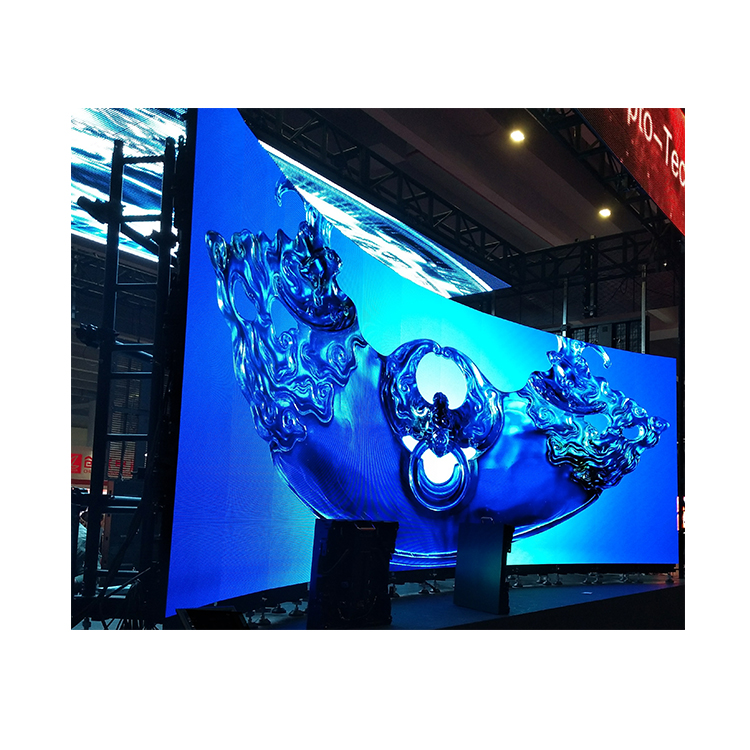 Indoor Curved Display Novastar P3.91 500x500mm Full Color Hd Led Display Modular