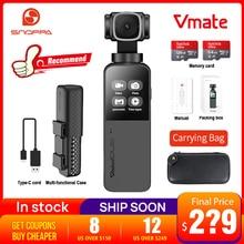 W magazynie Snoppa Vmate 3 osi kardana ręczna kamera 4K 200 mb/s szybkość transmisji nagrywania wideo 118g mikrofon pk feiyu kieszeń