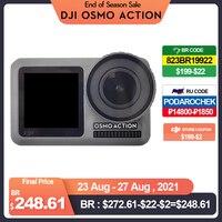DJI Osmo Action-pantallas duales y estabilizador RockSteady, resistentes al agua, 8 movimientos xSlow, original, nueva marca en stock