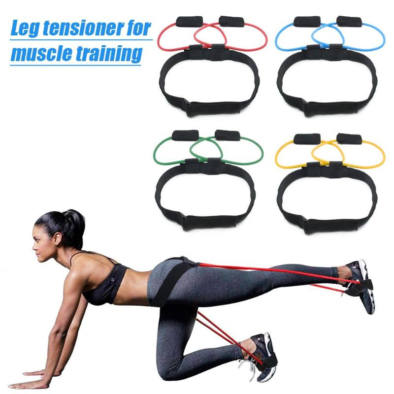 VIP Fitness Women Booty Bands  Adjustable Waist Belt Pedal Exerciser For Body Building Workout Gym Fitness