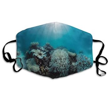 Dustproof Washable Reusable Save Coral Reefs Mouth Cover Mask Protective   Warm Windproof Mask чарльз дарвин coral reefs
