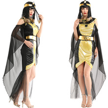 Cleopatra-Costume Queen-Dress Cosplay Arab Egyptian Sexy Ancient Party Woman for Adult