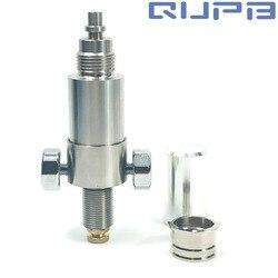 QUPB PCP Airforce Cóndor adaptadores de salida directa de válvula constante de acero inoxidable