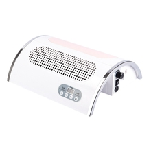 54W Nail Led Uv Lamp Vacuum Cleaner Suction Dust Collector 25000Rpm Drill Machine Pedicure Remover Polisher Tools 4 in 1 Ar