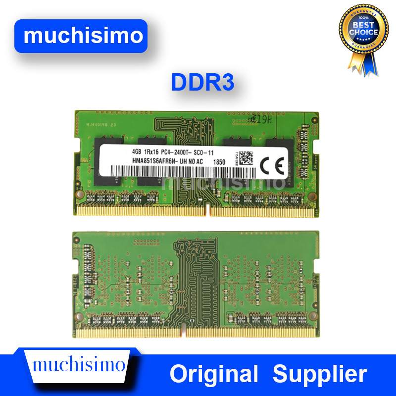 DDR3 Laptop Memory Notebook Chip RAM 2GB 4GB 8GB <font><b>PC2</b></font> PC3 PC4 1066 1333 1600Mhz 6400 8500 <font><b>10600</b></font> 1.5V Fully Compatible image