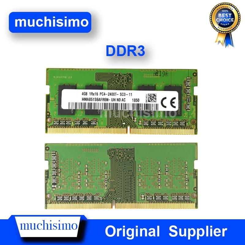DDR3 Mémoire Pc Portable Ordinateur Portable Puce RAM 2 GO 4GB 8GB PC2 PC3 PC4 1066 1333 1600Mhz 6400 8500 10600 1.5V Entièrement Compatible Vie-Garantie