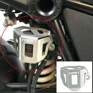 For BMW RnineT R nine T 2014-2020 Motorcycle Rear Brake Reservoir Covers Guard R nineT /5 Pure Racer Scrambler Urban G/S 16-19