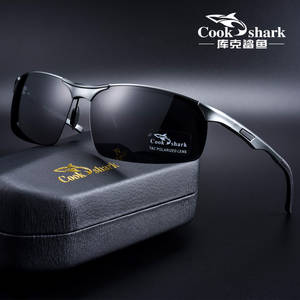 Driver Glasses Cook Shark Tide Hd Polarized Men Magnesium Aluminum New
