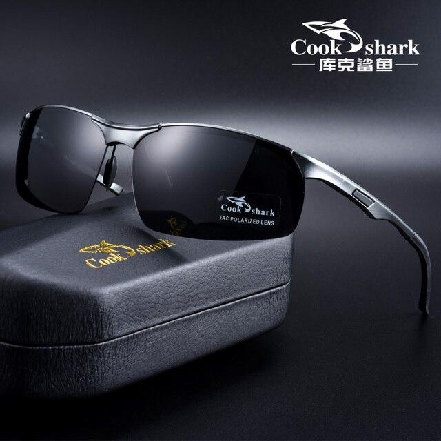 Gafas de sol de aluminio y magnesio para hombre, lentes de sol masculinas polarizadas HD, adecuadas para conducir, 2020 1