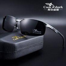 Cook Squalo 2020 nuovo di alluminio e magnesio occhiali da sole degli uomini occhiali da sole occhiali da sole polarizzati HD di guida del driver occhiali marea