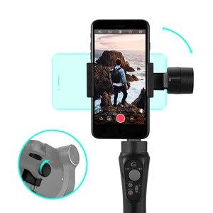 Image 5 - ZHIYUN CINEPEER C11 Gimbal гидростабилизатор на шарнирном замке с 3 ручной шарнирный стабилизатор для камеры GoPro карданный стабилизатор для камеры для iPhone/Samsung/Xiaomi