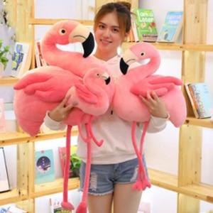 Flamingo plush stuffed doll cl
