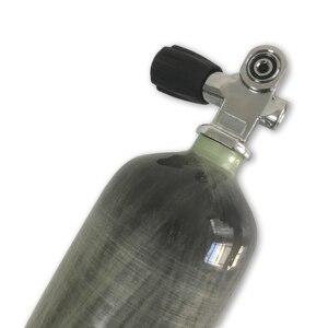 Image 4 - AC10351 Acecare 3L CE PCP cylindre en Fiber de carbone pour la chasse Airsoft Airforce Condor Air fusil Paintball réservoir avec Valve de plongée
