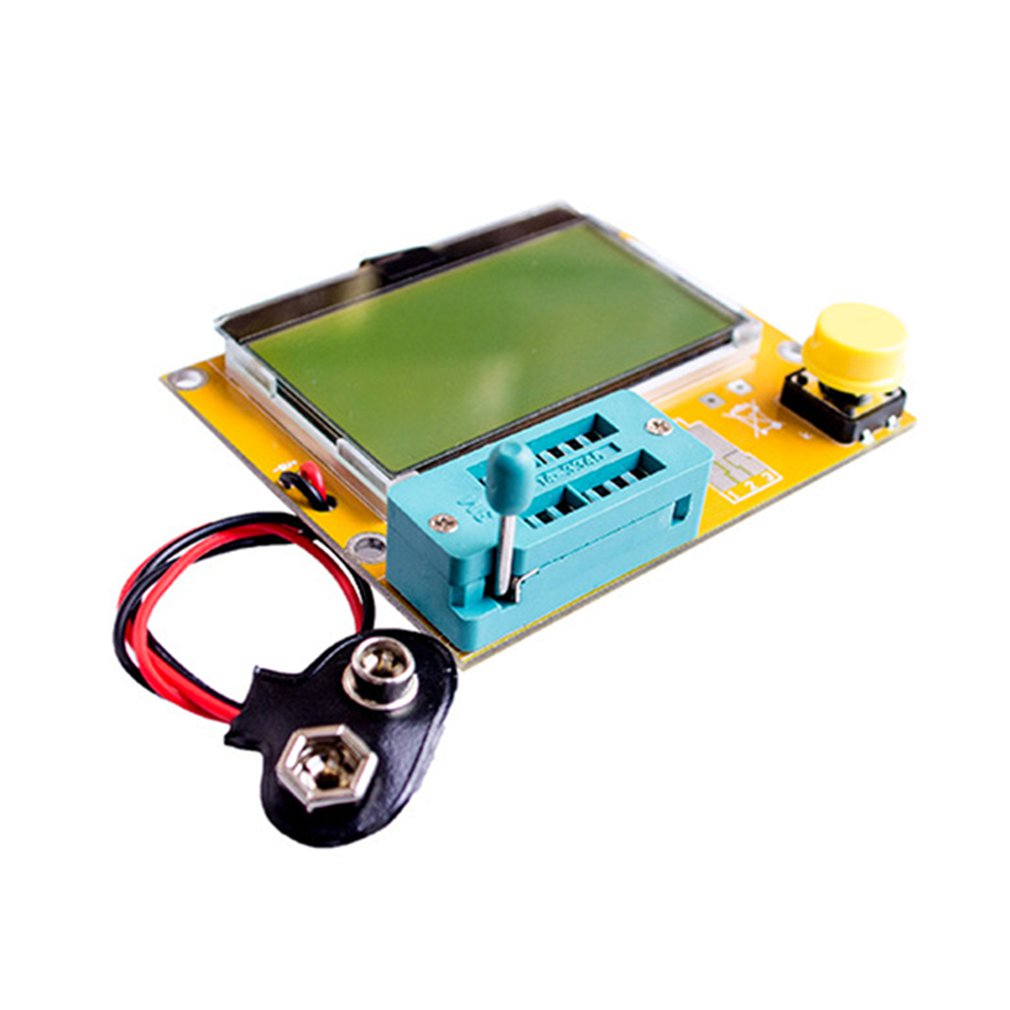 Lcr-T4 Graphical Transistor Tester Resistance And Capacitance Tester Esr Scr Transistor Tester High Efficiency