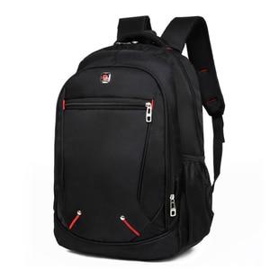 Image 1 - Мужской Дорожный рюкзак для ноутбука, черная водонепроницаемая сумка на плечо, школьный ранец для деловых поездок, 2020