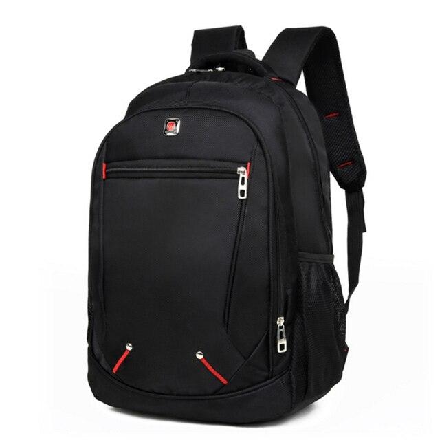 Мужской Дорожный рюкзак для ноутбука, черная водонепроницаемая сумка на плечо, школьный ранец для деловых поездок, 2020