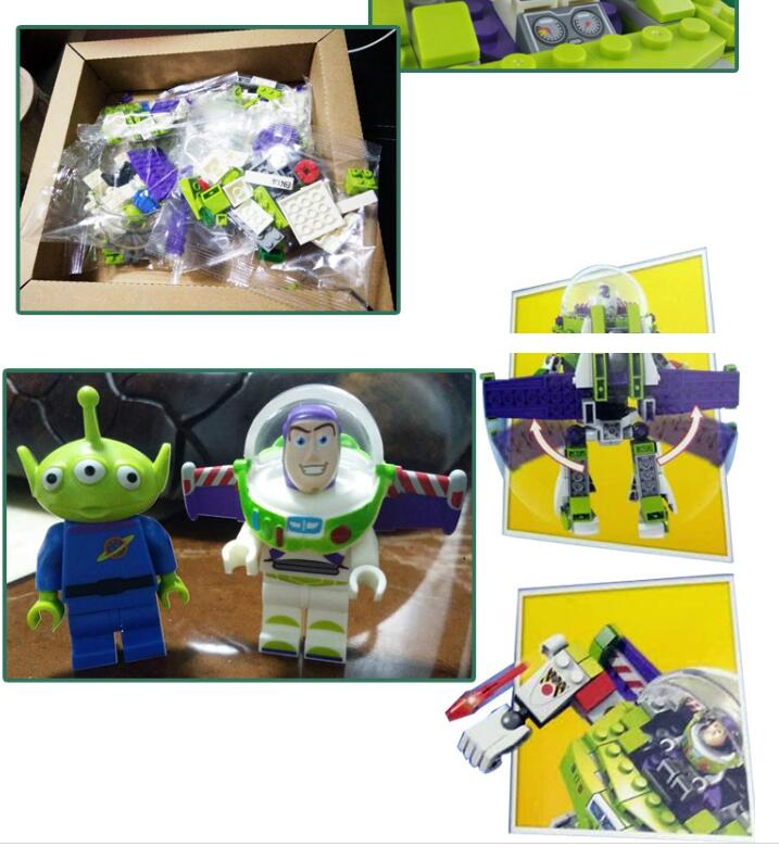 243pcs Toy Story 4 A Buzz Lightyear Mech Robots SY941 Super Heroes Construct Figure Building Blocks Toys For Children in Blocks from Toys Hobbies