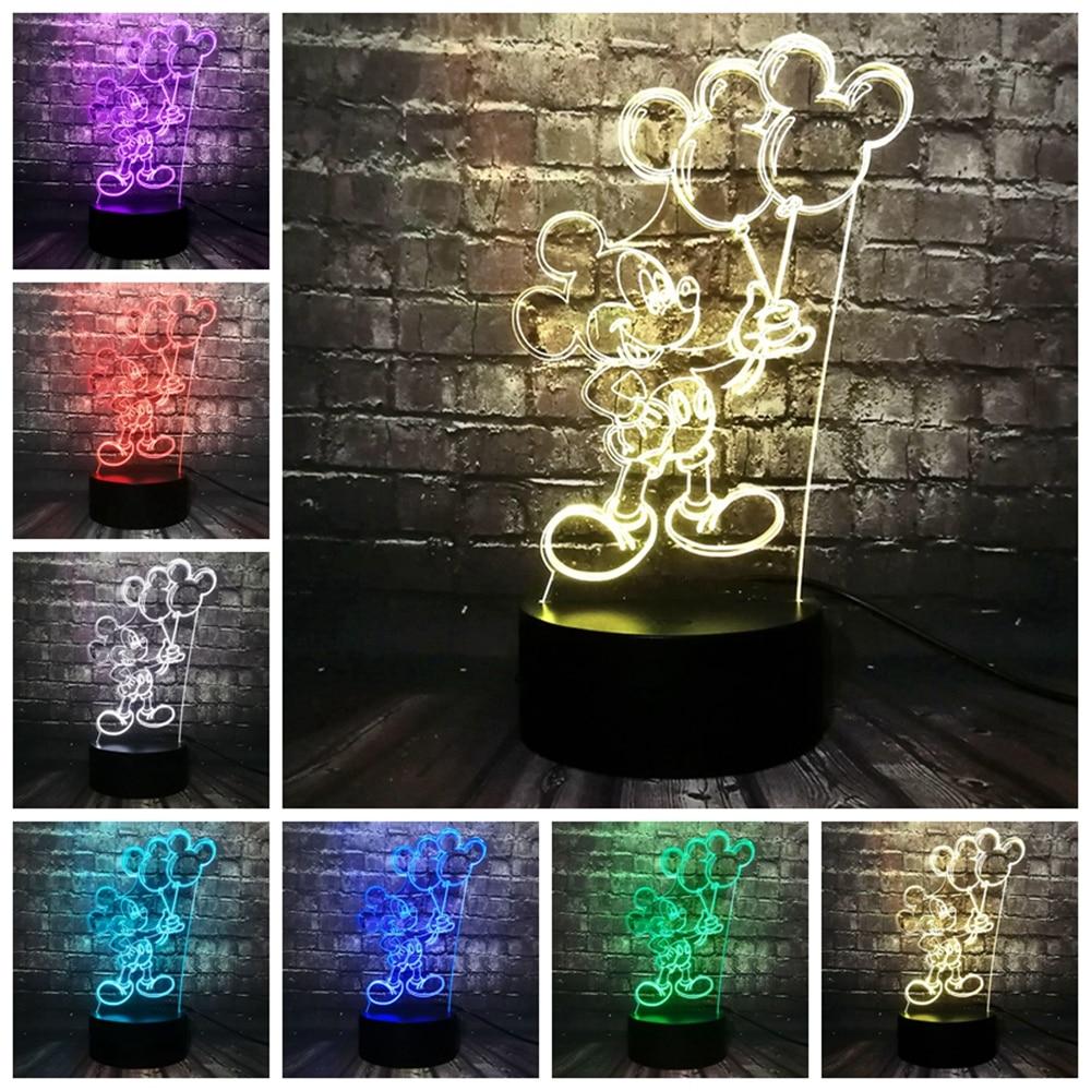 White UFO LED Mood Light USB LED Night Light Mood Lamp Touch Sensor