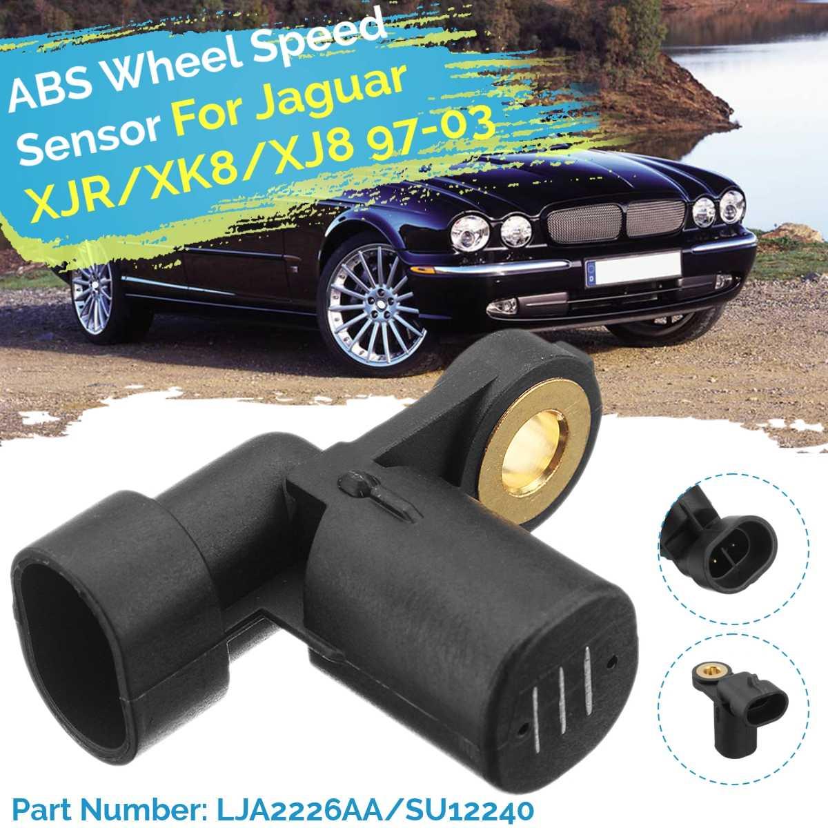 4PCS  Front /& Rear Left /& Right ABS Wheel Speed Sensor for 2008 Jaguar XJR XKR