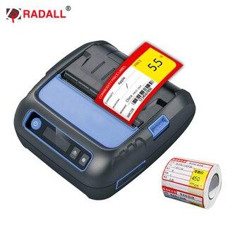 Stampante Per Etichette A Filo | 80 Millimetri Bluetooth Stampante Termica Stampante Di Etichette Tasca Label Maker 58 Millimetri Stampante Di Ricevute Per Android/iPhone/POS /ESC Supermercato