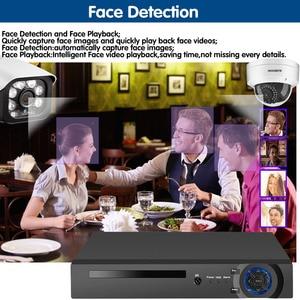 Image 3 - 8CH 5MP אלחוטי NVR POE אבטחת 8 pcs Bullet & כיפת IP מצלמה מערכת IR CUT P2P CCTV מעקב וידאו מקליט ערכת פנים שיא