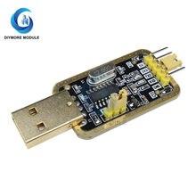 Ch340g módulo usb para ttl conversor adaptador uart placa porta serial 3.3v 5v com luz de alimentação para arduino