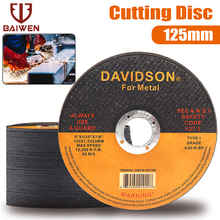 2-50Pcs 125MM Metal Cutting Disc Angle Grinder Cut off Wheels For Iron Stainles Steel Grinding Blade Cutter