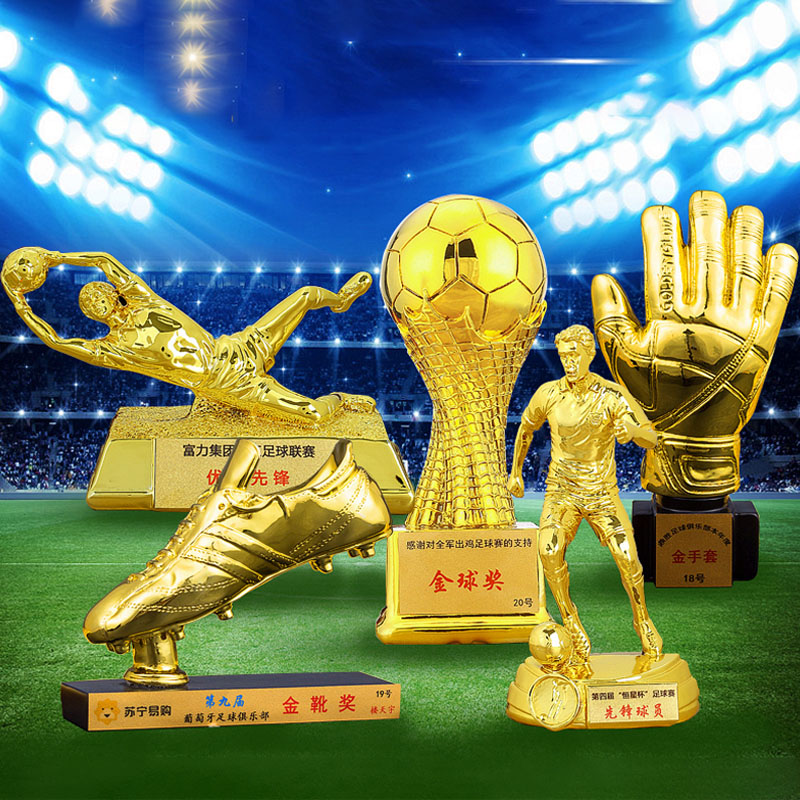 Champions Awards Art Trophy for Souvenir,Collections,Tournaments,Party Celebrations Award Ceremony Desk Decor Gifts for Children 16 Metal