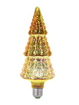 3D Christmas Tree Edison Bulb Light Firework E27 LED Pendant Light 6W Vintage Table Lamp Novelty Night Light Home Weeding Decor 3d led night light usb 3d luminous novelty lighting base table lamp home decor valentine s birthday christmas gifts