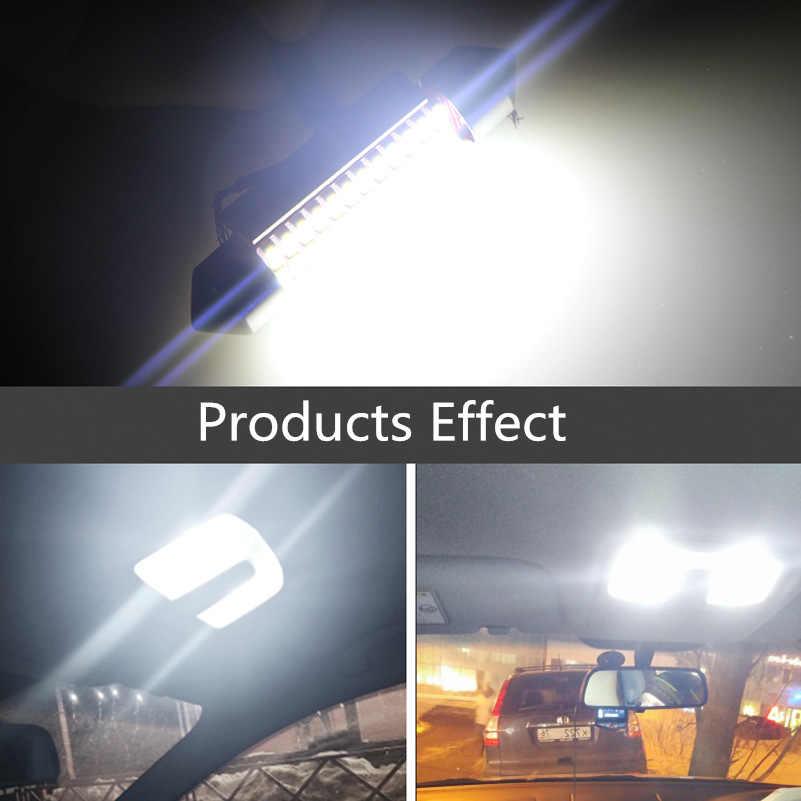 2 Pcs C5W LED CANBUS 36 Mm Memperhiasi Bohlam LED Kesalahan Gratis Bohlam untuk Ford Focus 2 3 1 MK2 MK3 Fiesta Mondeo MK4 MK5 LED Lampu Interior