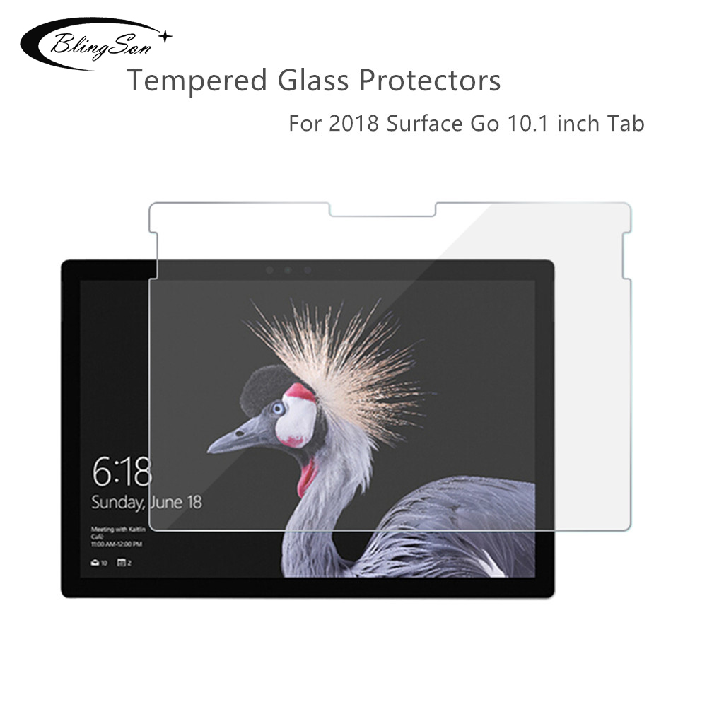Screen Protector For Microsoft Surface Go 10.1 2018 Tempered Glass For Microsoft SurfaceGo 10 Inch 2018 Tablet Screen Protectors