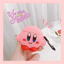 3D Earphone Cases for AirPods 2 Case Cute Elf Ball Cartoon for Apple Air Pods Protect Cover for