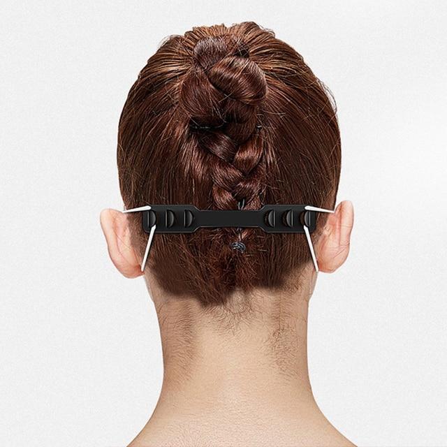 10pcs Mask Hold Ear Maks Holder Adjustable Anti-slip Mask Ear Grips High Quality Extension Hook Face Masks Buckle Holder 2