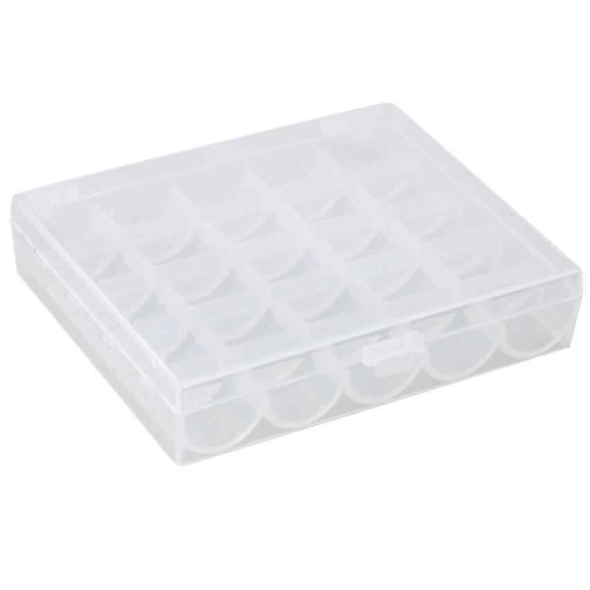 Storage Box Creative Cute 25 Bobbins Spool Storage Case Box Container Storage Wear-resistant Durable HOT Easy To Use box A30730