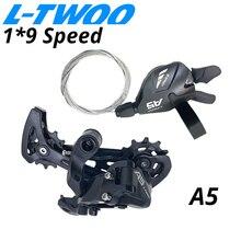 LTWOO A5 1X9 9 Переключатель скоростей триггер Groupset 9 s 9v рычаг переключения передач 9 задний переключатель скорости переключатели совместимые SRAM