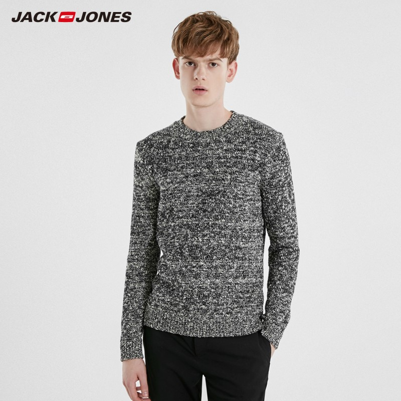 JackJones Men's Casual Style Long-sleeved Knitwear Sweater 219125509