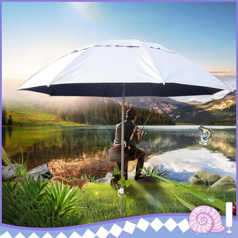 Outdoor Parasol Sun Shade Umbrella New Garden Beach Patio Tilting Tilt Umbrella Parasol Protection Ultraviolet-proof Adjustable