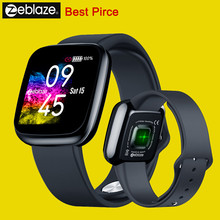 Best Price New Zeblaze Crystal 3 Smartwatch WR IP67 Heart Rate Blood Pressure Long Battery Life IPS Color Display Smart Watch(China)