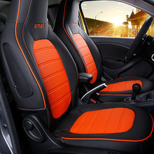 Car-Seat-Protection-Cover Forfour Smart 453 Cushion Interior-Decoration Mercedes Full-Wrap