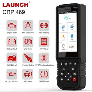 Image 1 - LAUNCH X431 OBD 2 סורק מנוע קוד קורא ABS DPF שמן שירות איפוס scaner 10kit מפעל השקת escaner 10kit מפעל משלוח חינם