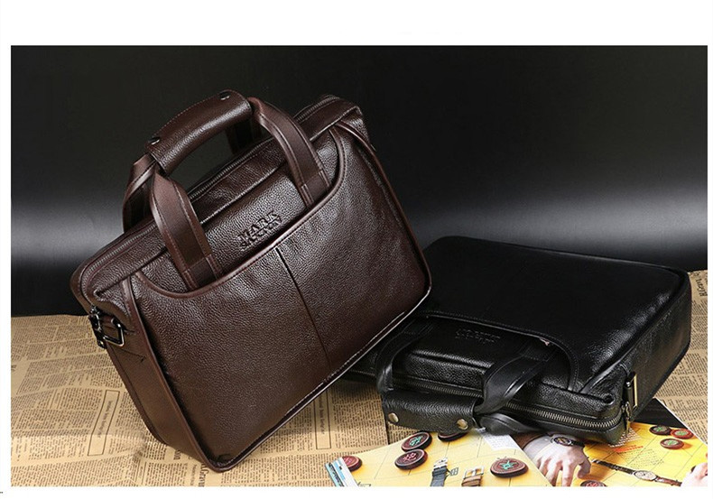 Hf824301754e84403a8907931a2b559e4r 2019 New Fashion cowhide male commercial briefcase /Real Leather vintage men's messenger bag/casual Natural Cowskin Business bag