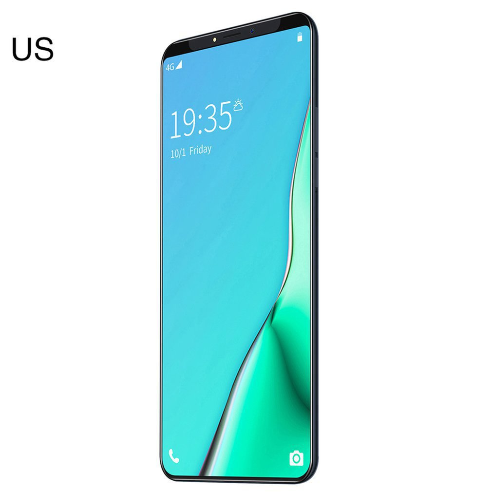"6.1"" Smartphone For Mate33 Pro Big Screen Android Phone Hd Display Hd Camera Twilight Streamline Fashion Shape Mobile Phone"