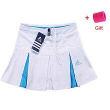 Женская Спортивная юбка для тенниса, летняя быстросохнущая Женская юбка с разрезом белого размера плюс, тонкая облегающая юбка для бега