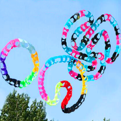 Free Shipping High Quality Kite Circles Holes Pendant Kite Soft Kite Outdoor Toys Large Kite Factory Octopus Kite Reel 3d Hawk